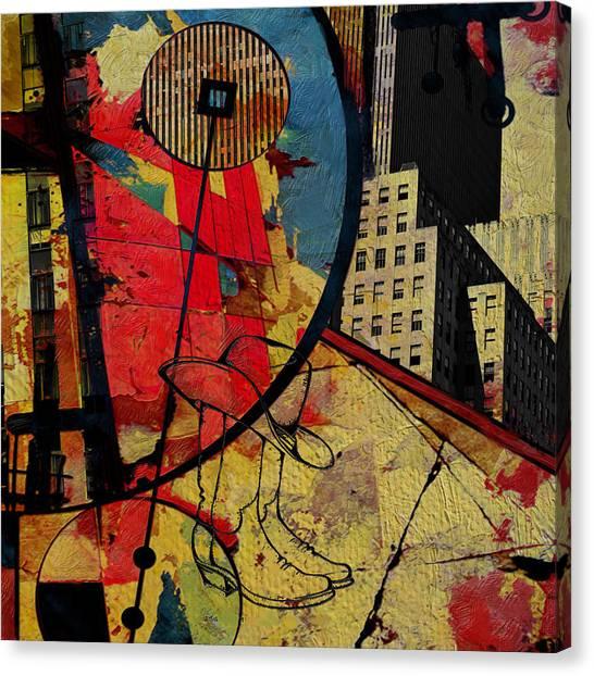 Uaa Canvas Print - San Antonio 004 C by Corporate Art Task Force