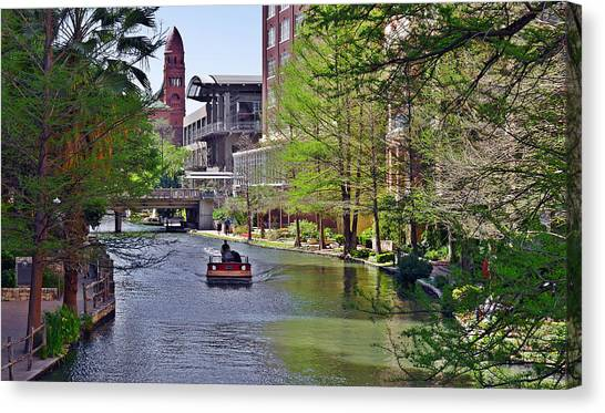 San Antonio River Walk Canvas Print
