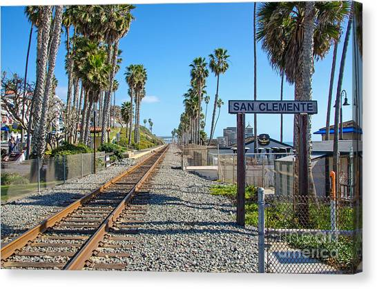 San Clemente  Canvas Print by Baywest Imaging