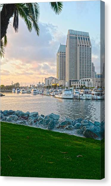 San Diego Beauty Canvas Print by Andrew Kasten