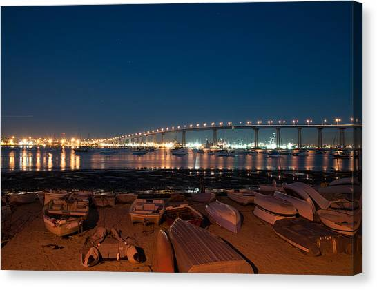 San Diego Bridge  Canvas Print
