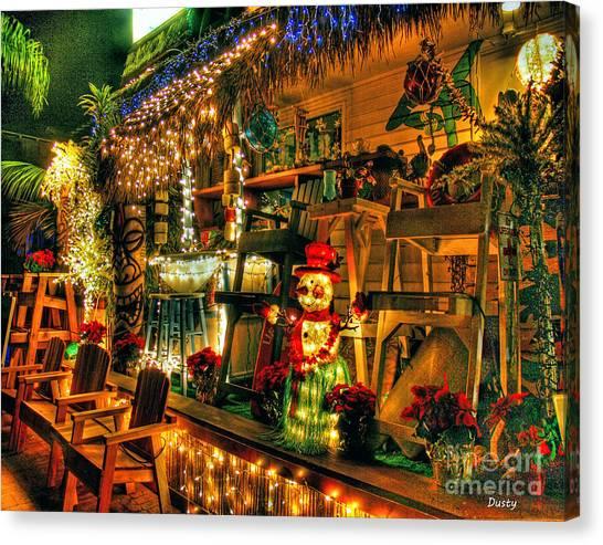San Diego Christmas Canvas Print