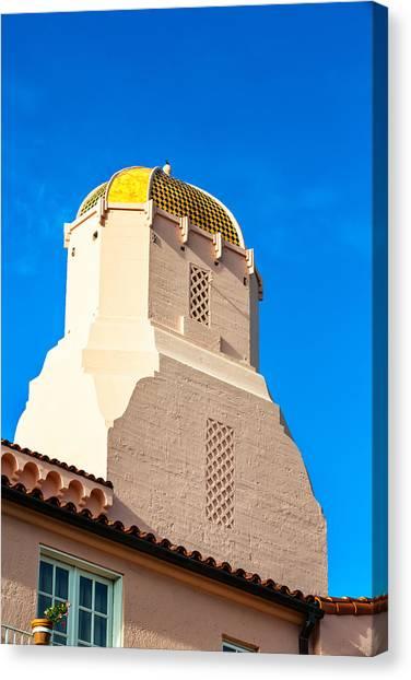 San Diego Church Canvas Print
