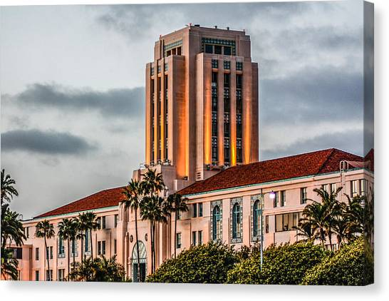 San Diego County Administration Center Canvas Print