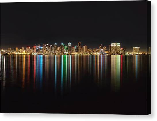 San Diego Reflections Canvas Print