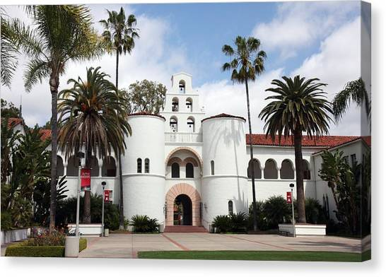 San Diego State University Canvas Print