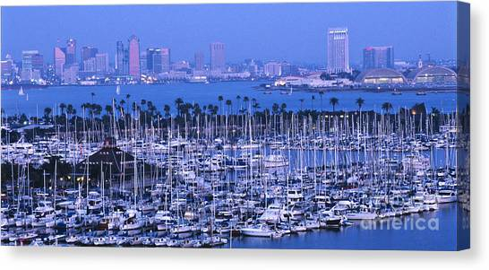 San Diego Twilight Canvas Print