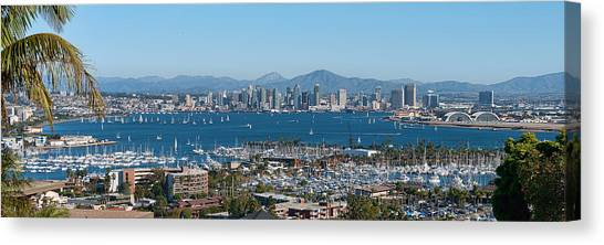 San Diego's Big Bay Canvas Print