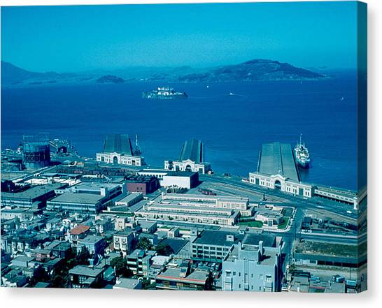 San Francisco 13 1955 Canvas Print by Cumberland Warden
