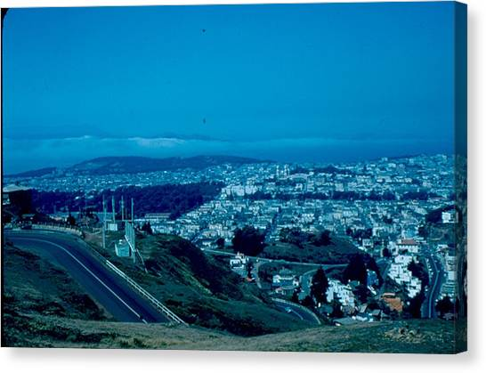 San Francisco 4 1955 Canvas Print by Cumberland Warden