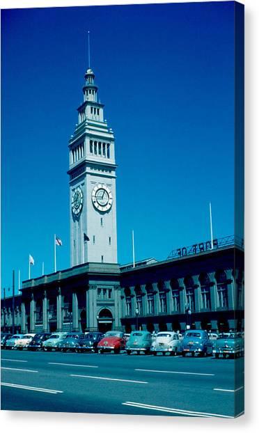 San Francisco 5 1955 Canvas Print by Cumberland Warden