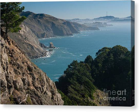 San Francisco Bay 2.2736 Canvas Print by Stephen Parker