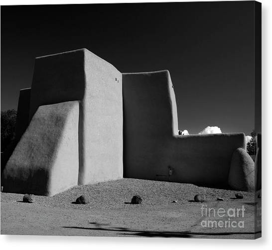 Dennis Hopper Canvas Print - San Francisco De Asis Chapel by Heidi Hermes