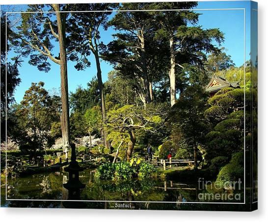 San Francisco Golden Gate Park Japanese Tea Garden 11 Canvas Print by Robert Santuci