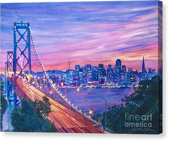 San Francisco Nights Canvas Print