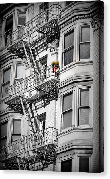San Francisco Raised Garden Canvas Print