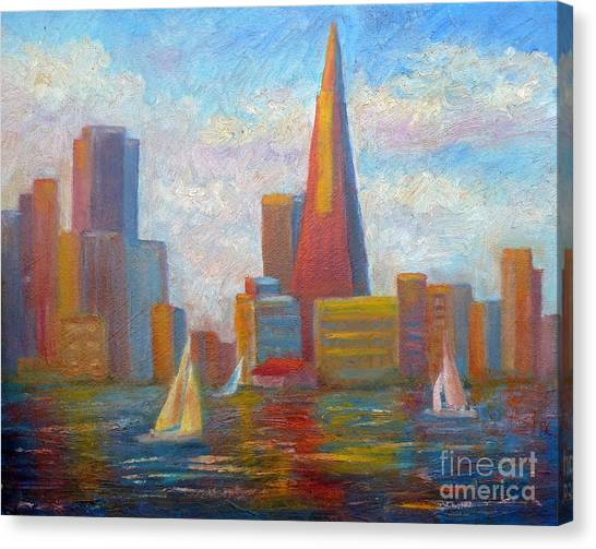 San Francisco Reflections Canvas Print