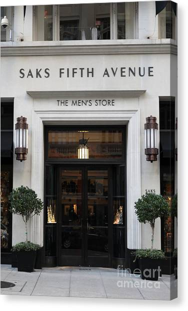 Saks Fifth Avenue Canvas Prints | Fine Art America