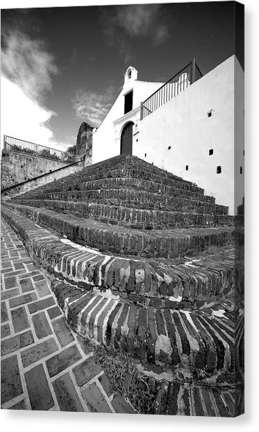 San German 4791bw Canvas Print