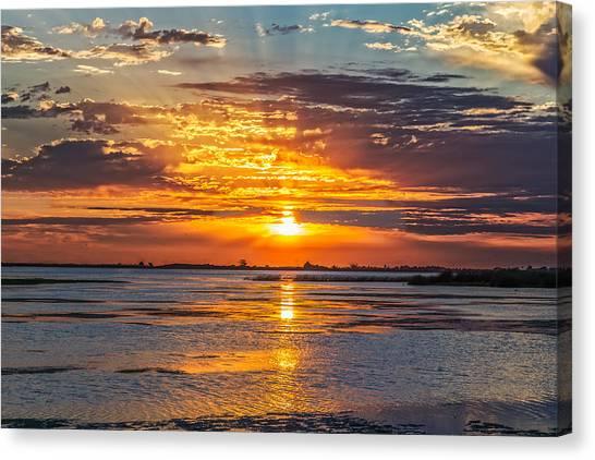 San Joaquin Sunrise Canvas Print