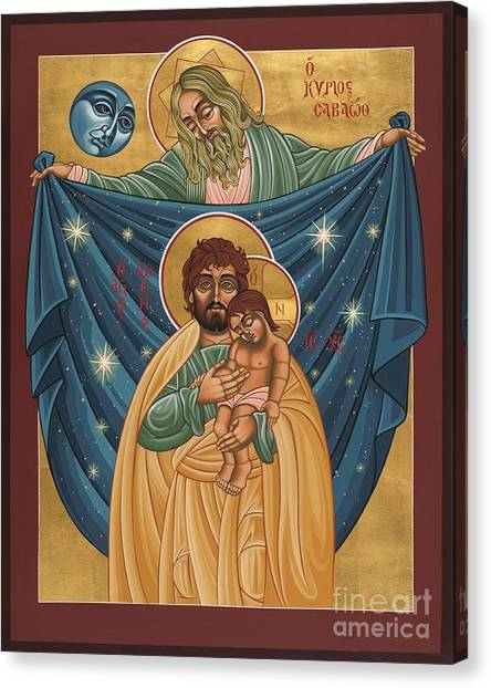 San Jose Sombra Del Padre 161 Canvas Print