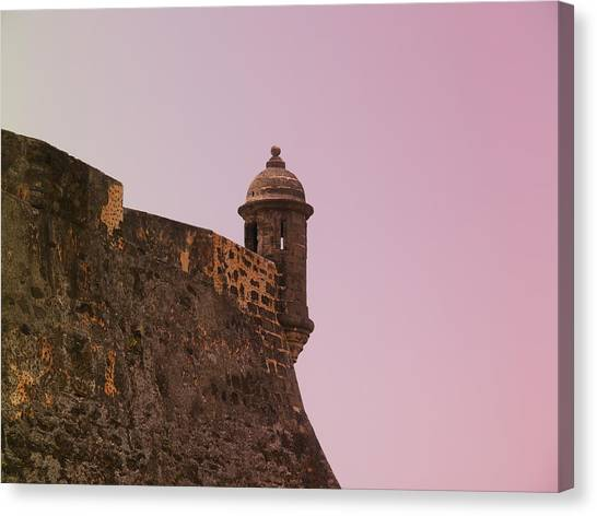San Juan - City Lookout Post Canvas Print