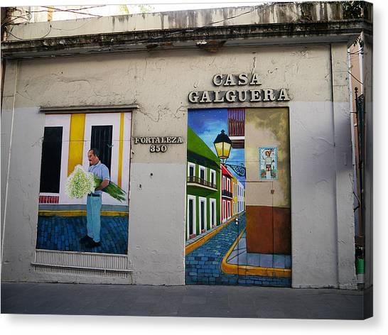 San Juan - Casa Galguera Mural Canvas Print