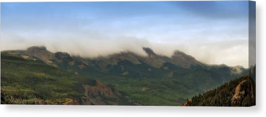 San Juan Mountian Range Canvas Print