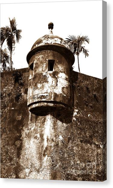 San Juan Tower Canvas Print by John Rizzuto
