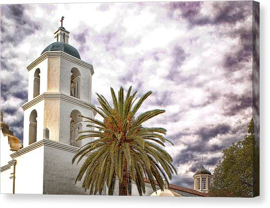 San Luis Rey Mission Canvas Print