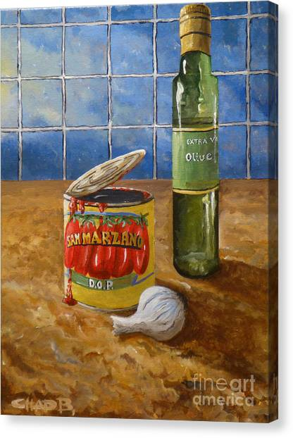 San Marzano Canvas Print by Chad Berglund