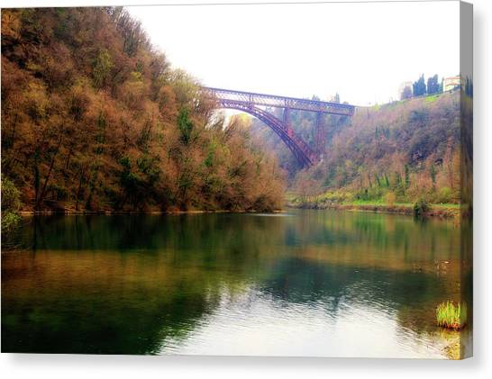 San Michele Bridge N.1 Canvas Print