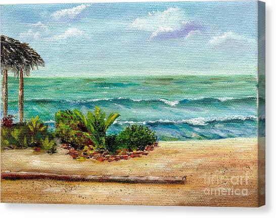 San Onofre Beach Canvas Print