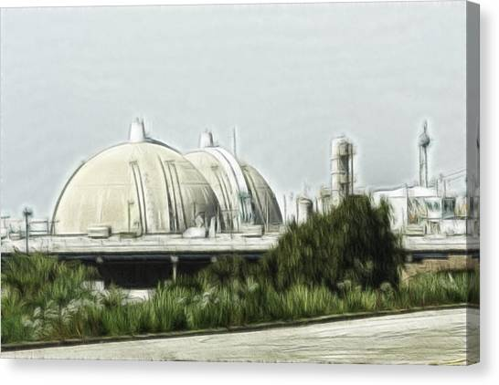 Nuclear Plants Canvas Print - San Onofre by Photographic Art by Russel Ray Photos