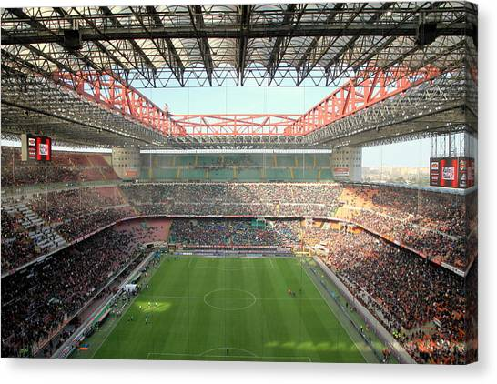 San Siro Stadium Canvas Print