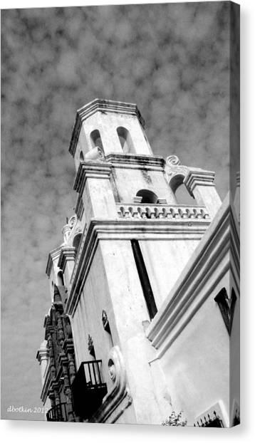 San Xavier Bell Tower Canvas Print