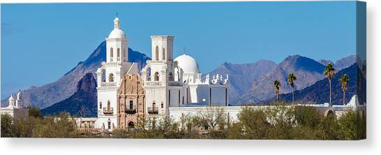 San Xavier Del Bac Mission Canvas Print