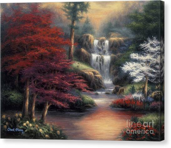 Oils Canvas Print - Sanctuary by Chuck Pinson