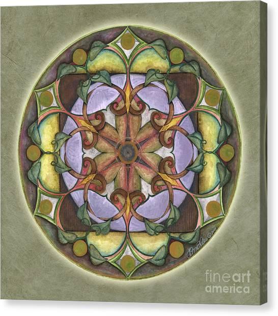 Sanctuary Mandala Canvas Print