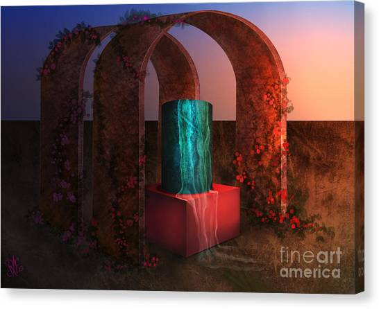 Sanctuary Of Light Canvas Print
