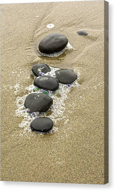 Sand And Stones Canvas Print