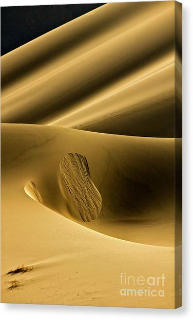 Sand Avalanche Canvas Print
