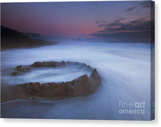 Sand Castles Canvas Print - Sand Castle Dream by Mike  Dawson