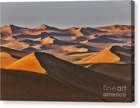 Arabian Desert Canvas Print - Sand Dune by Nino Marcutti