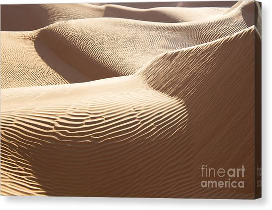 Sahara Desert Canvas Print - Sand Dunes 3 by Delphimages Photo Creations