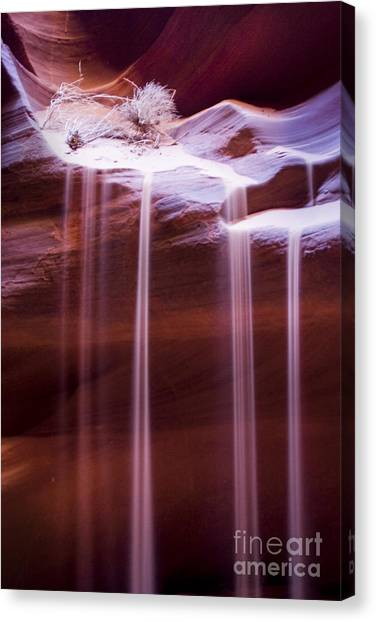 Sand Flow Canvas Print