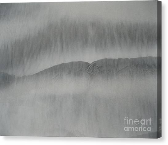 Sand Lips Canvas Print