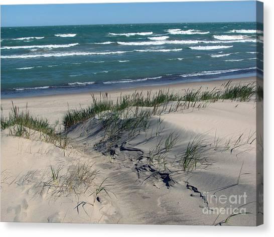 Sand Ripples 2 Canvas Print