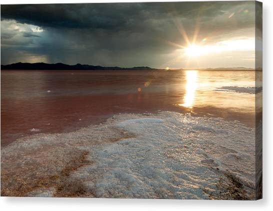 Sand Salt And Sunshine Canvas Print