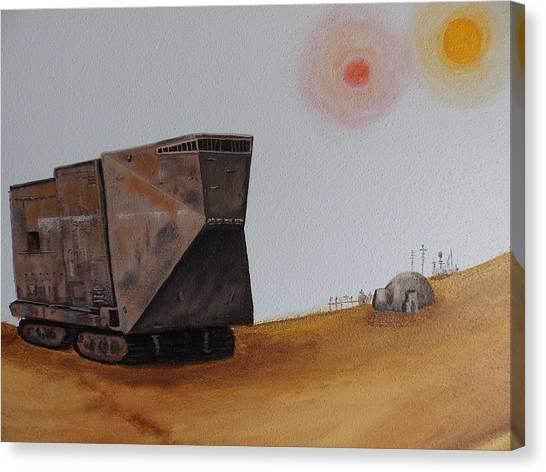 Sandcrawler Canvas Print